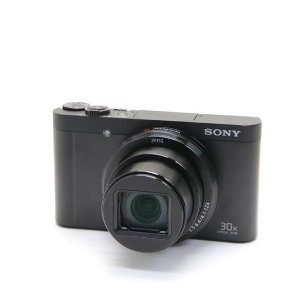 ソニー 高倍率コンパクトカメラ Cyber-shot(サイバーショット) DSC-WX500 B ブラックの画像