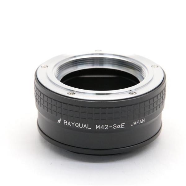 RAYQUAL(レイクォール) マウントアダプター M42レンズ/ソニーEボディ用の画像