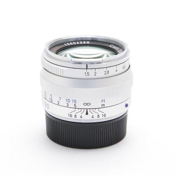 Carl Zeiss(カールツァイス) C Sonnar T* 50mm F1.5 ZM(ライカM用) シルバーの画像