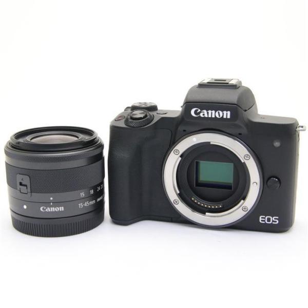 キヤノン EOS Kiss M EF-M15-45 IS STM レンズキット ブラックの画像