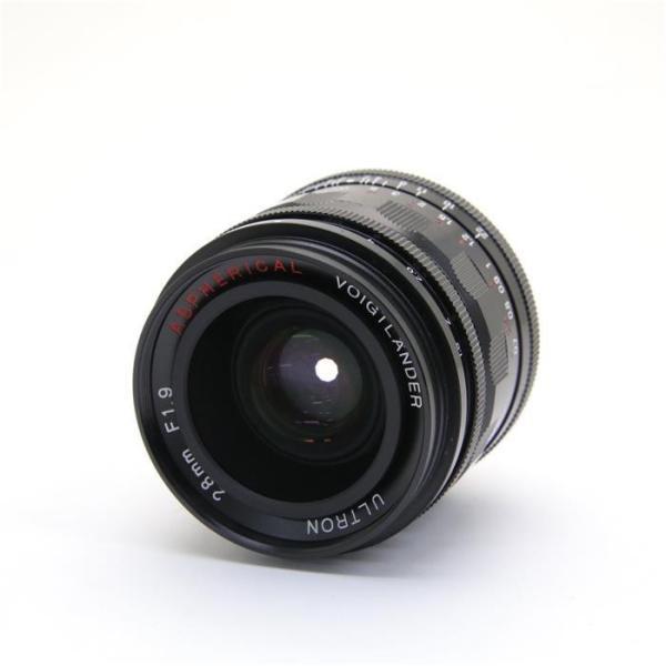 Voigtlander(フォクトレンダー) ULTRON 28mm F1.9 Aspherical ブラックの画像