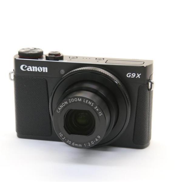 キヤノン 高画質タイプデジタルカメラ PowerShot(パワーショット) PSG9X MARKII(BK) ブラックの画像