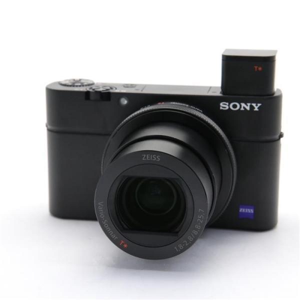 ソニー 高画質タイプデジタルカメラ 4K Cyber-shot(サイバーショット) DSC-RX100M4 ブラックの画像