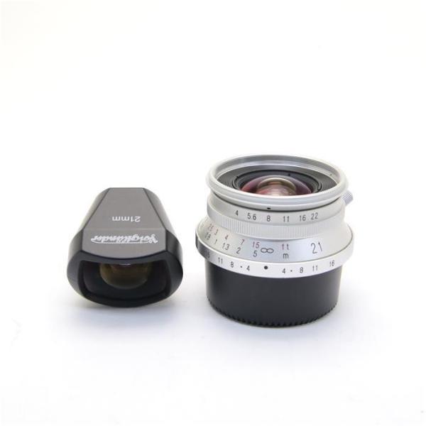 Voigtlander(フォクトレンダー) COLOR SKOPAR 21mm F4(専用ファインダー付き) シルバーの画像