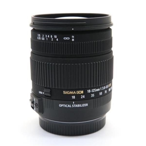 《美品》SIGMA 18-125mm F3.8-5.6 DC OS HSM(キヤノン用)