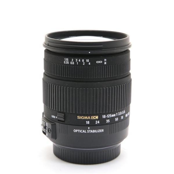《良品》SIGMA 18-125mm F3.8-5.6 DC OS HSM(シグマ用)