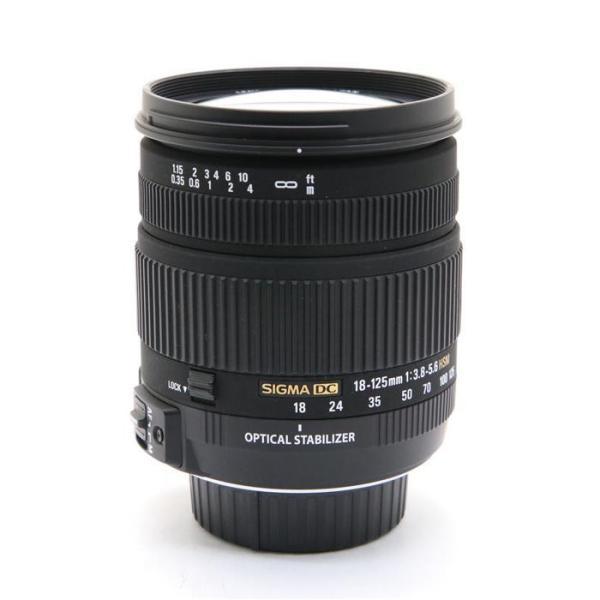《良品》SIGMA 18-125mm F3.8-5.6 DC OS HSM(ニコン用)