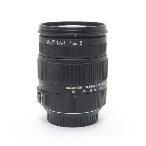 《並品》SIGMA 18-50mm F2.8-4.5 DC OS HSM(キヤノン用)