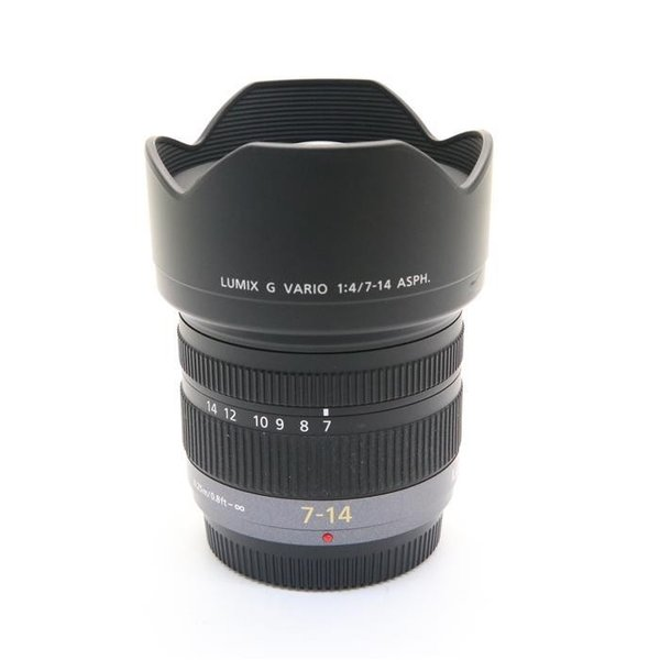 《並品》Panasonic LUMIX G VARIO 7-14mm F4.0 ASPH.