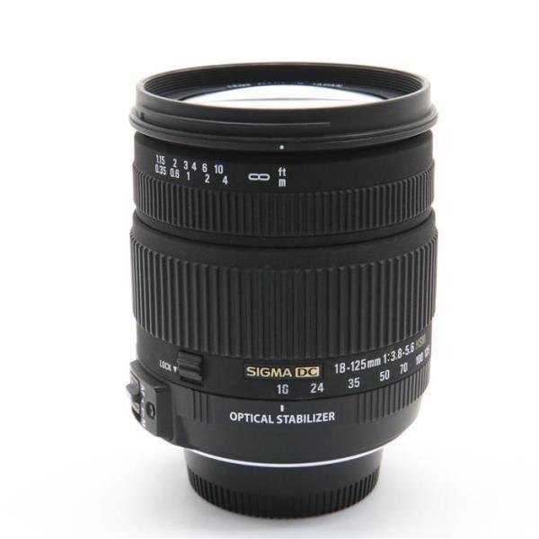 《並品》SIGMA 18-125mm F3.8-5.6 DC OS HSM(ニコン用)