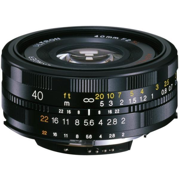 《新品》 Voigtlander(フォクトレンダー) ULTRON 40mm F2SLII N Aspherical(ニコンF用)
