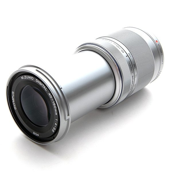 《新品》 OLYMPUS(オリンパス) M.ZUIKO DIGITAL 40-150mm F4.0-5.6R シルバー (マイクロフォーサーズ)