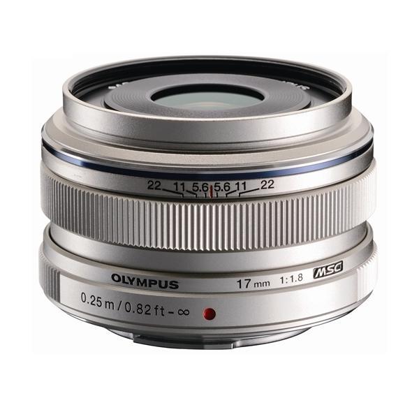 《新品》 OLYMPUS(オリンパス) M.ZUIKO DIGITAL 17mm F1.8 シルバー(マイクロフォーサーズ)〔レンズフード別売〕