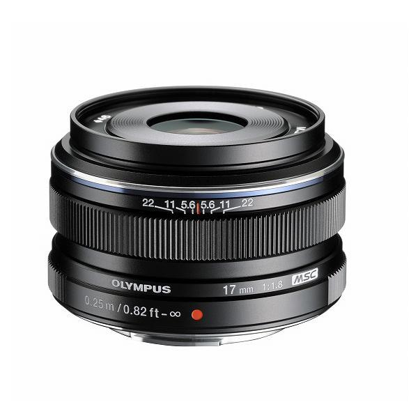 《新品》 OLYMPUS(オリンパス) M.ZUIKO DIGITAL 17mm F1.8 ブラック(マイクロフォーサーズ)〔レンズフード別売〕