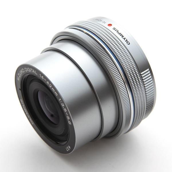 《新品》 OLYMPUS(オリンパス) M.ZUIKO DIGITAL ED 14-42mm F3.5-5.6 EZ シルバー