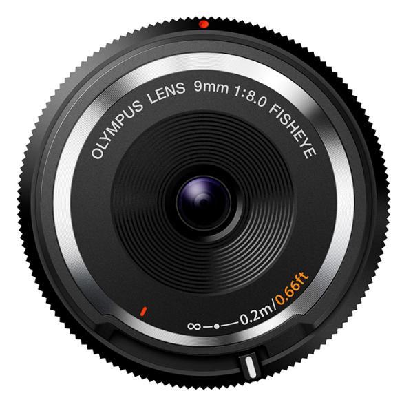 《新品》 OLYMPUS(オリンパス) フィッシュアイボディキャップレンズ(9mm F8.0 FISHEYE) BCL-0980 ブラック