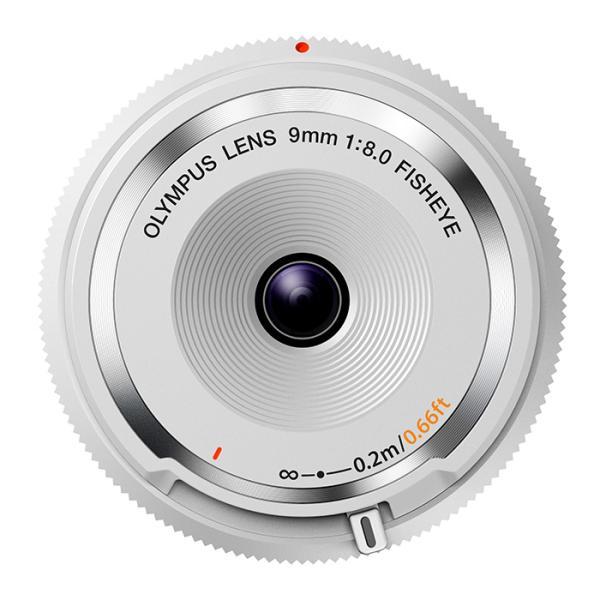 《新品》 OLYMPUS(オリンパス) フィッシュアイボディキャップレンズ(9mm F8.0 FISHEYE) BCL-0980 ホワイト