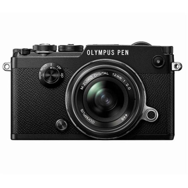 《新品》 OLYMPUS (オリンパス) PEN-F 12mmF2.0レンズキット ブラック
