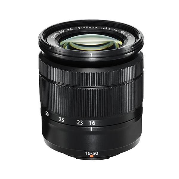 《新品》 FUJIFILM(フジフイルム) フジノン XC16-50mm F3.5-5.6 OIS II ブラック〔メーカー取寄品〕