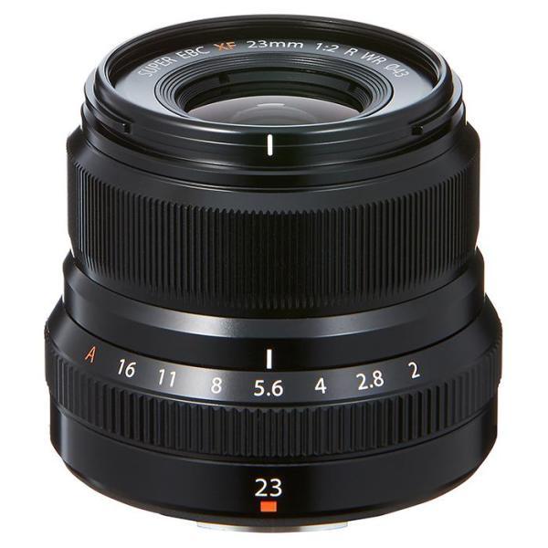 《新品》 FUJIFILM(フジフイルム) フジノン XF23mm F2 R WR ブラック