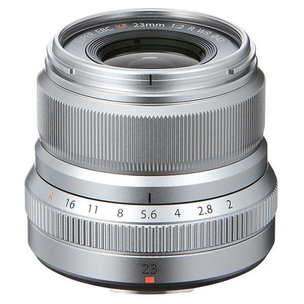 《新品》 FUJIFILM(フジフイルム) フジノン XF23mm F2 R WR シルバー