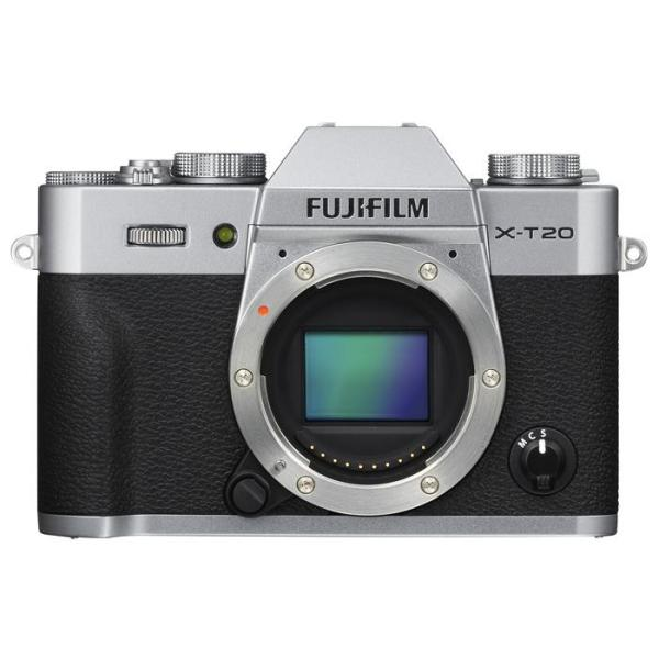 《新品》 FUJIFILM(フジフイルム) X-T20 ボディ シルバー【対象のXFレンズと同時購入で追加¥5,000-キャッシュバック対象】