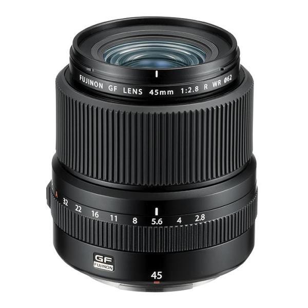 《新品》 FUJIFILM(フジフイルム) フジノン GF45mm F2.8 R WR 【¥50,000-キャッシュバック対象】