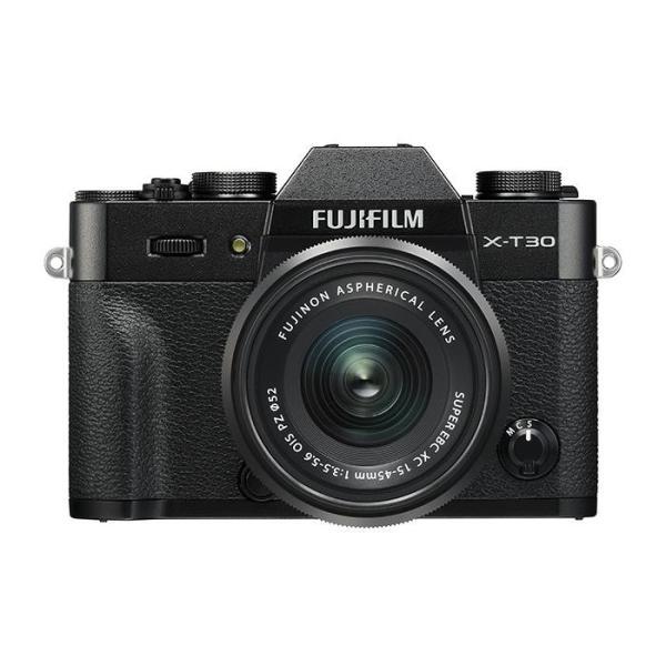 《新品》 FUJIFILM (フジフイルム) X-T30 XC15-45mmレンズキット ブラック[ ミラーレス一眼カメラ | デジタル一眼カメラ | デジタルカメラ ]|ymapcamera