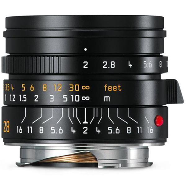 《新品》 Leica(ライカ) ズミクロン M28mm F2.0 ASPH. ブラック[11672]