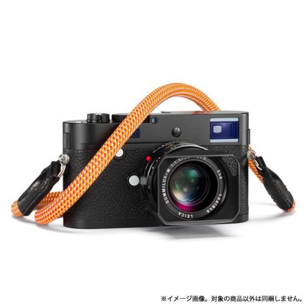 《新品アクセサリー》 Leica (ライカ) ロープストラップ by COOPH 126cm リングタイプ Glowing Red