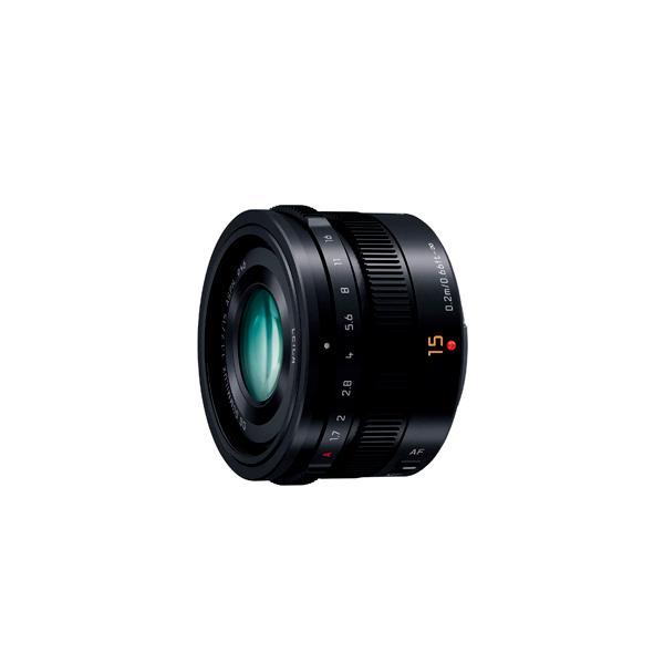 《新品》 Panasonic (パナソニック) LEICA DG SUMMILUX 15mm F1.7 ASPH. ブラック