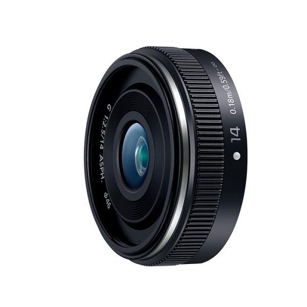 《新品》 Panasonic (パナソニック) LUMIX G 14mm F2.5 II ASPH. H-H014A-K ブラック