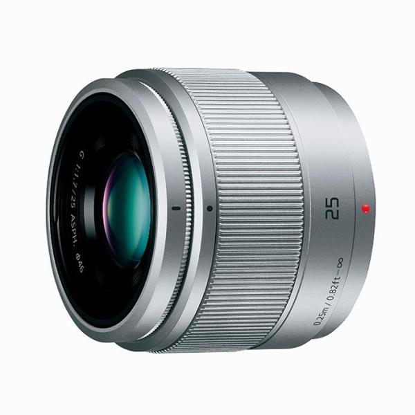 《新品》 Panasonic (パナソニック) LUMIX G 25mm F1.7 ASPH. シルバー