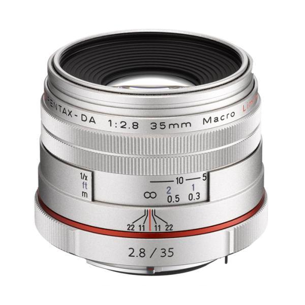 《新品》 PENTAX(ペンタックス) HD DA35mm F2.8 Macro Limited シルバー[ Lens | 交換レンズ ]