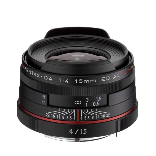 《新品》 PENTAX(ペンタックス) HD DA15mm F4 ED AL Limited ブラック