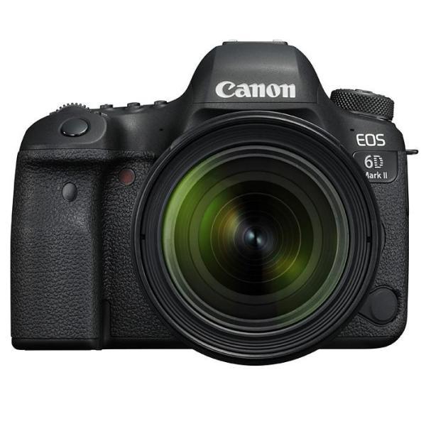 《新品》 Canon(キヤノン) EOS 6D Mark II EF24-70 F4L IS USM レンズキット【Live!フルサイズキャンペーン/&EFレンズキャンペーン対象】