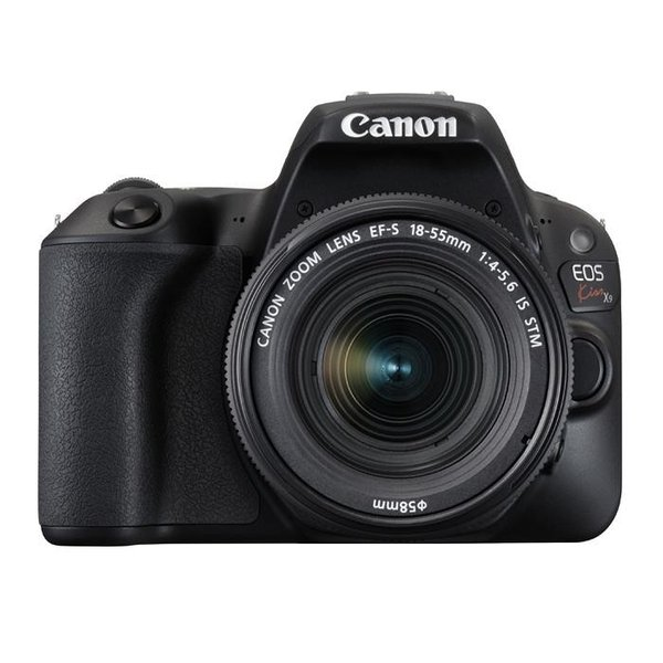 《新品》 Canon(キヤノン) EOS Kiss X9 EF-S18-55 F4 STM レンズキット ブラック 【¥5,000-キャッシュバック対象】