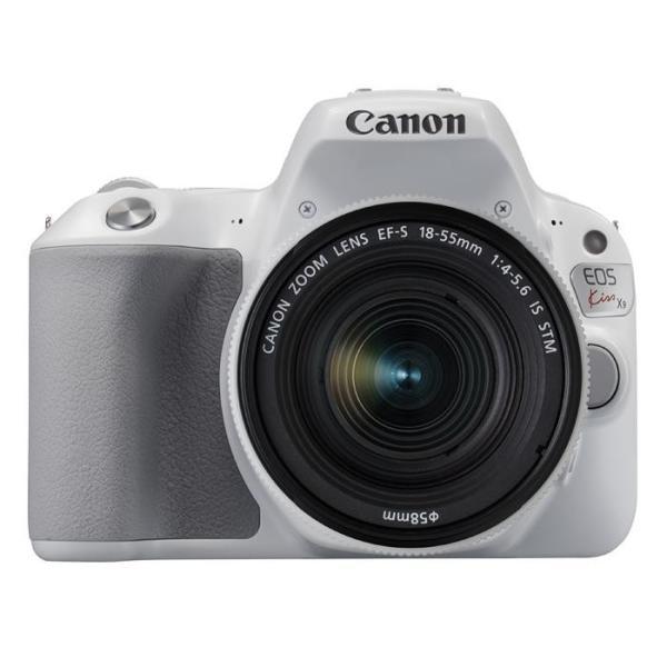 《新品》 Canon(キヤノン) EOS Kiss X9 EF-S18-55 F4 STM レンズキット ホワイト