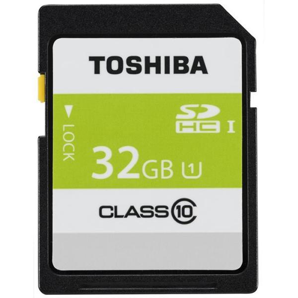 《新品アクセサリー》 TOSHIBA (トウシバ) SDHCカード UHS-1 32GB Class10 SDAR40N32G