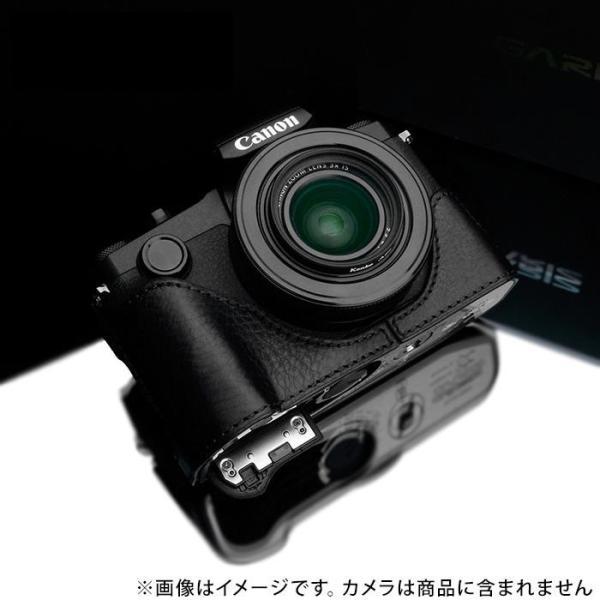《新品アクセサリー》 GARIZ (ゲリズ) キヤノン PowerShot G1X Mark III用ケース XS-G1XM3BK ブラック