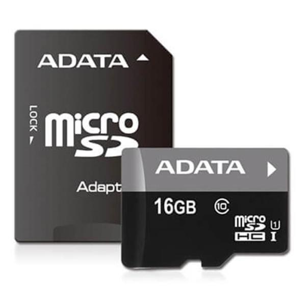 《新品アクセサリー》 ADATA (エーデータ) Premier microSDHC UHS-I Class10 R/W:50/10 16GB AUS