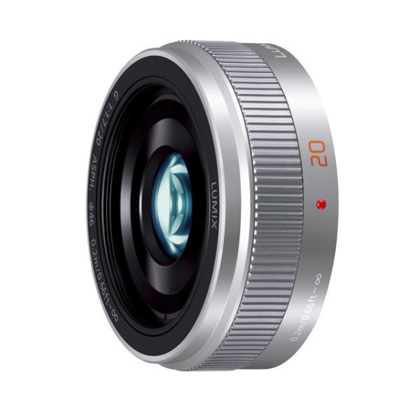 《新品》 Panasonic (パナソニック) LUMIX G 20mm F1.7 II ASPH. シルバー