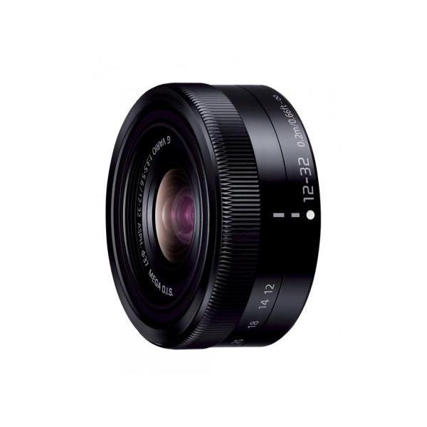 《新品》 Panasonic (パナソニック) LUMIX G VARIO12-32mm F3.5-5.6 ASPH. MEGA O.I.S. H-FS12032 ブラック
