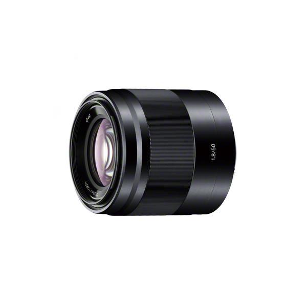 《新品》 SONY(ソニー) E 50mm F1.8 OSS SEL50F18 ブラック[ Lens | 交換レンズ ]