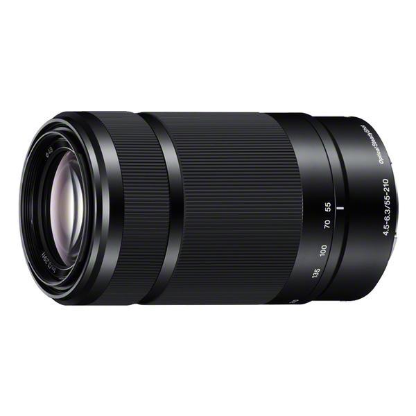 《新品》 SONY (ソニー) E 55-210mm F4.5-6.3 OSS SEL55210 ブラック[ Lens | 交換レンズ ]【α6300レンズキット同時購入で¥20,000-キャッシュバック対象】
