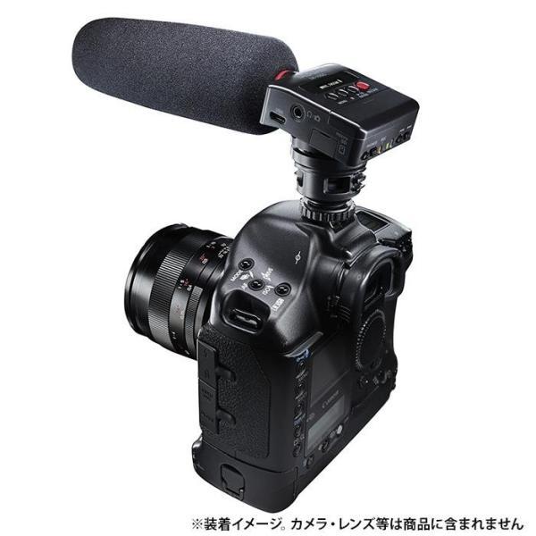 《新品アクセサリー》 TASCAM (タスカム) ショットガンマイク搭載 カメラ用リニアPCMレコーダー DR-10SG【特価品/在庫限り】