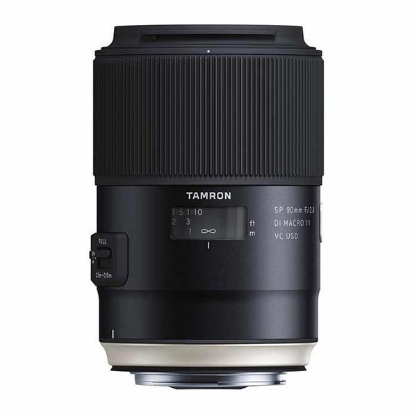 《新品》 TAMRON (タムロン) SP 90mm F2.8 Di MACRO 1:1 VC USD/Model F017(キヤノン用)
