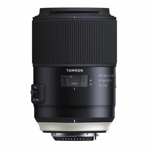 《新品》 TAMRON (タムロン) SP 90mm F2.8 Di MACRO 1:1 VC USD/Model F017N(ニコン用)