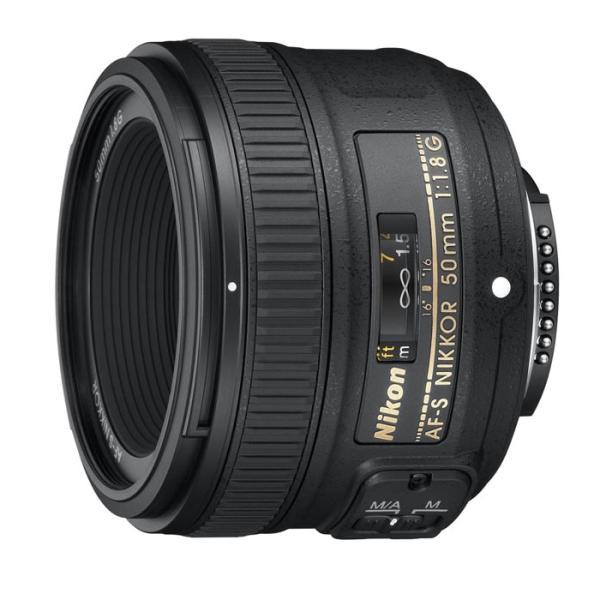 《新品》 Nikon(ニコン) AF-S NIKKOR 50mm F1.8G 【¥3,000-キャッシュバック対象】