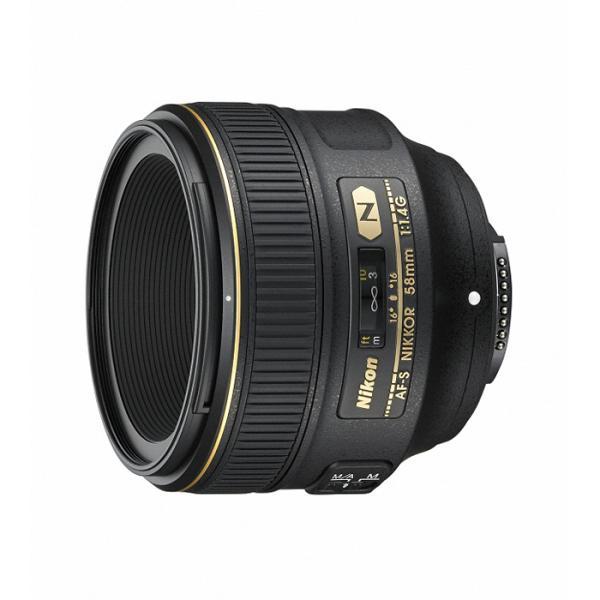 《新品》 Nikon(ニコン) AF-S NIKKOR 58mm F1.4G【¥10,000-キャッシュバック対象】【フォトツアー応募対象】